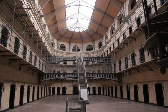 Skrzydło wiktoriańskie więzienia Kilmainham Gaol