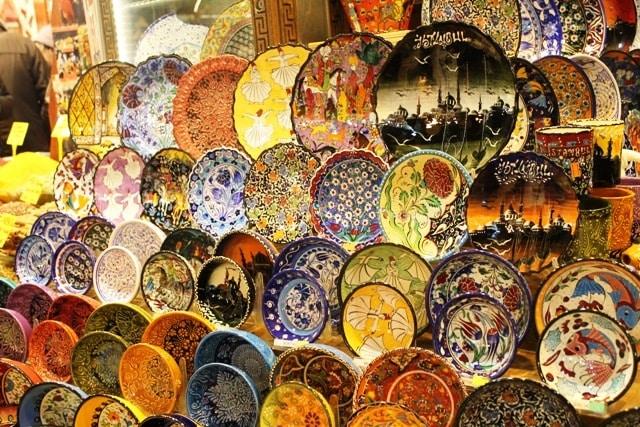 Kolorowy bazar