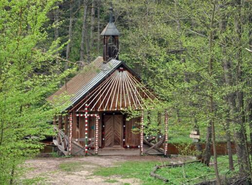 Kościół św. Stanisława i kaplica na wodzie w Górecku Kościelnym