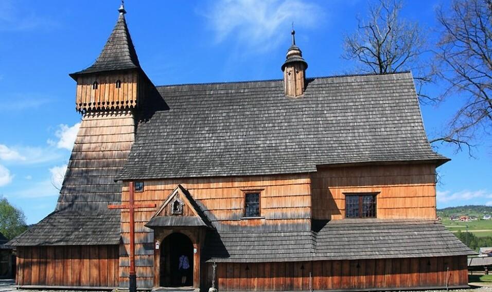 10 najpiękniejszych kościołów drewnianych w Małopolsce