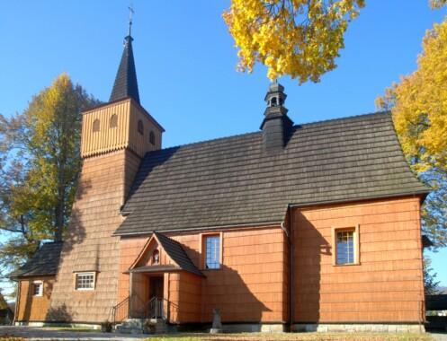 Kościół Trójcy Świętej i św. Antoniego Opata w Łopusznej