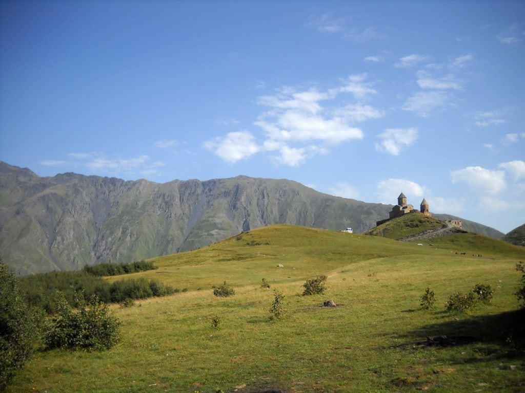Kościół Tsminda Sameba nad Kazbegi