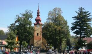 Kościół Wszystkich Świętych w Krościenku nad Dunajcem