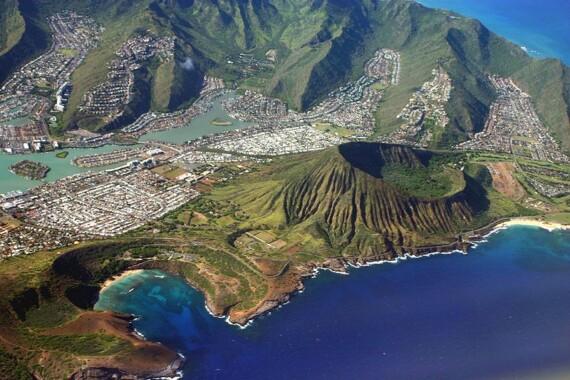 Krater Koko na wyspie O'ahu