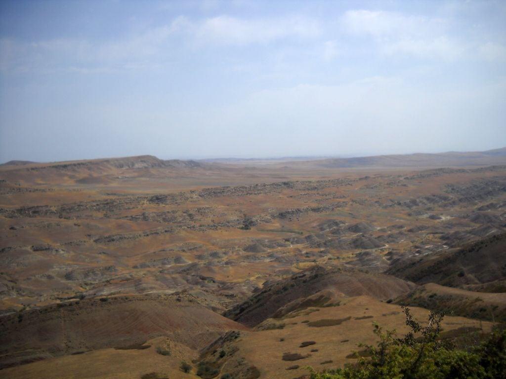 Księżycowy krajobraz okolic Dawida Garedża