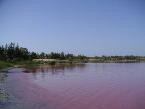Jezioro Lac Retba