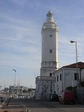 Latarnia morska w Rimini
