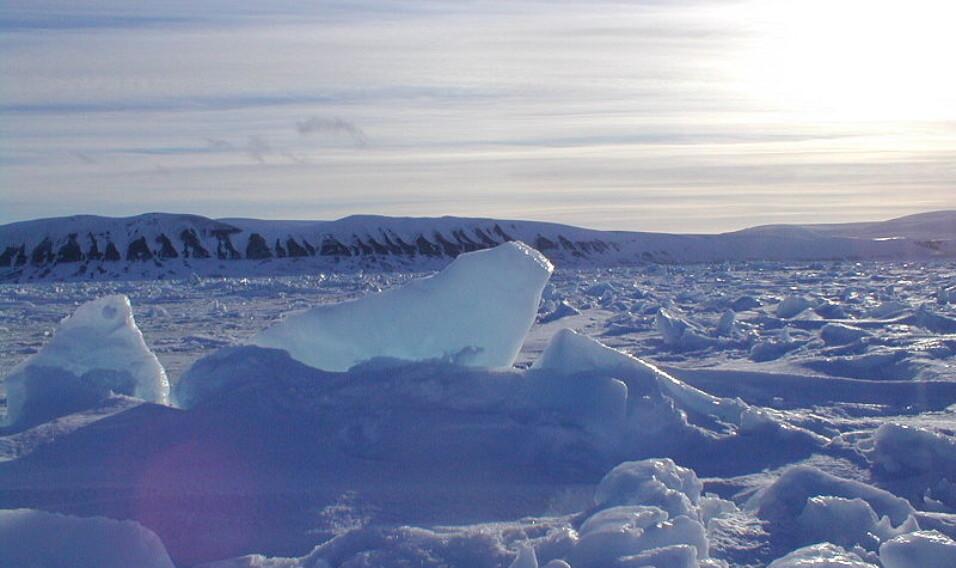 Edgeoya, Svalbard, Norwegia