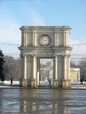 Łuk Triumfalny w Kiszyniowie