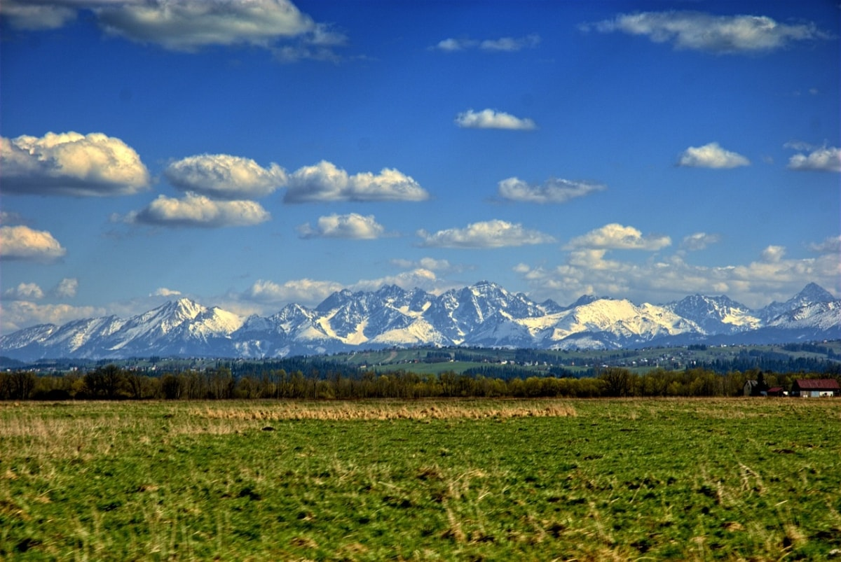 Majówka w górach. Tatry.
