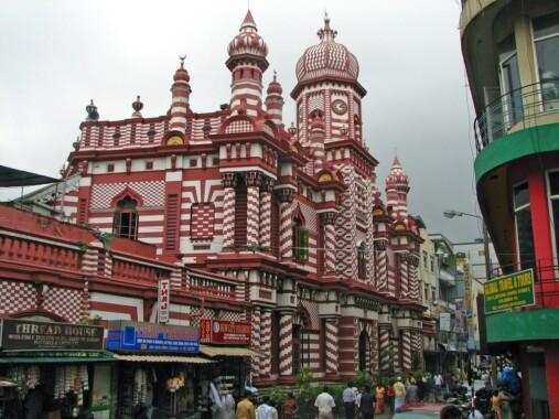 Meczet Dżami-ul-Alfar w Kolombo