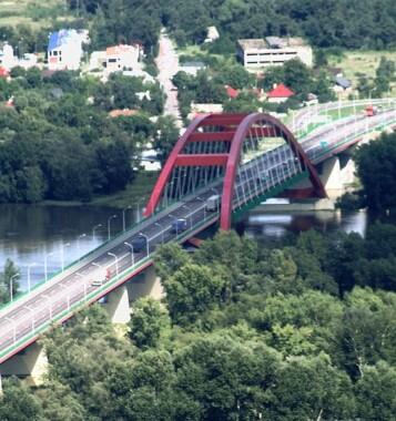 Most im. Jana Pawła II w Puławach