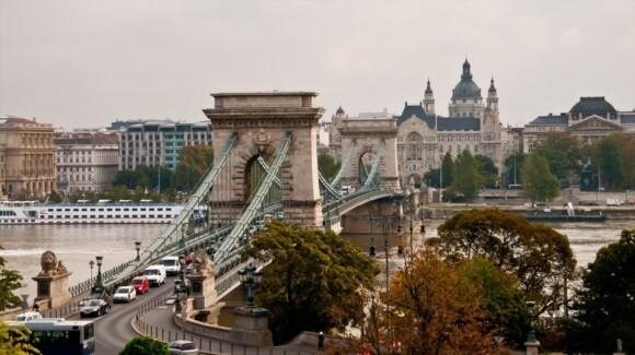 Most Łańcuchowy w Budapeszcie