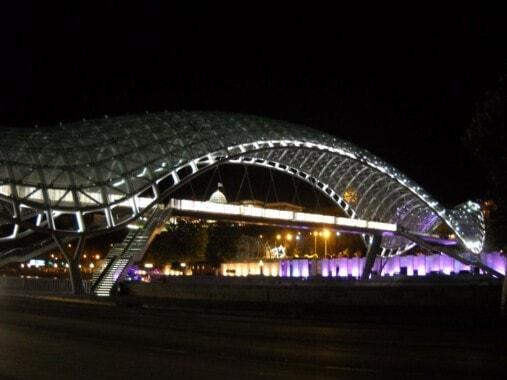 Most Pokoju w Tbilisi