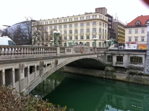 Most Smoka w Lublanie