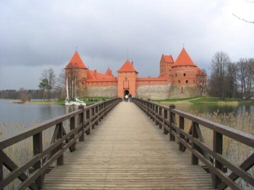 Most zamkowy w Trokach