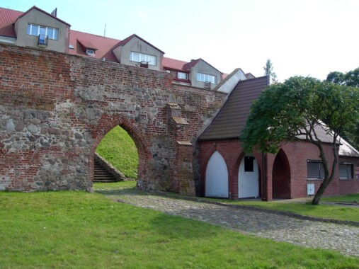 Mury miejskie w Kamieniu Pomorskim