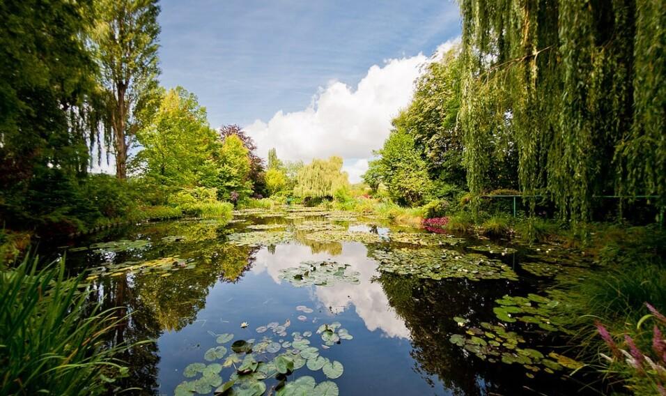 Ogród Claude'a Moneta, Giverny, Francja
