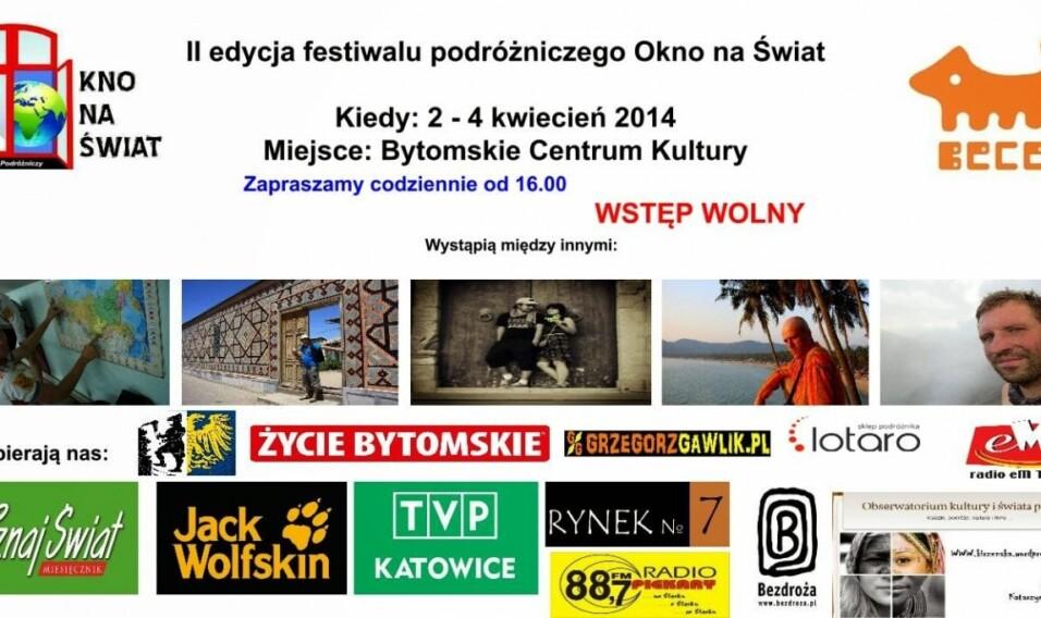 II Festiwal Podróżniczy Okno na Świat
