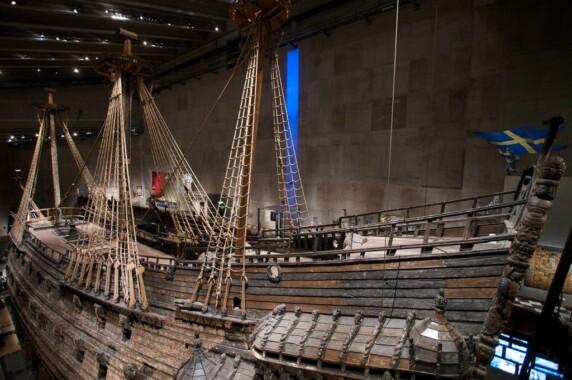 Okręt Vasa w Muzeum Vasa