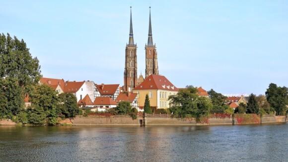 Ostrów Tumski. Katedra św. Jana.