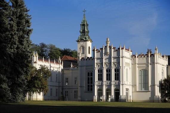 Pałac w Martonvásár.
