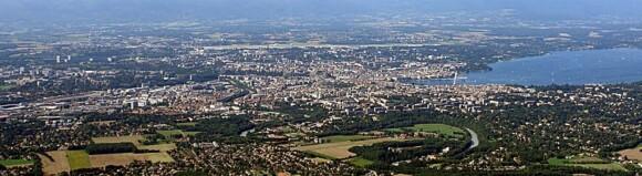 Panorama Genewy