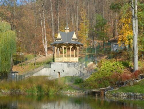 Park Górny i Dolny w Szczawnicy
