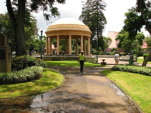 Park Morazán w San José