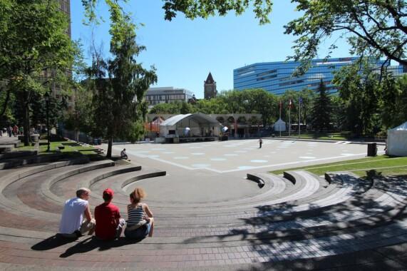 Plac Olimpijski w Calgary