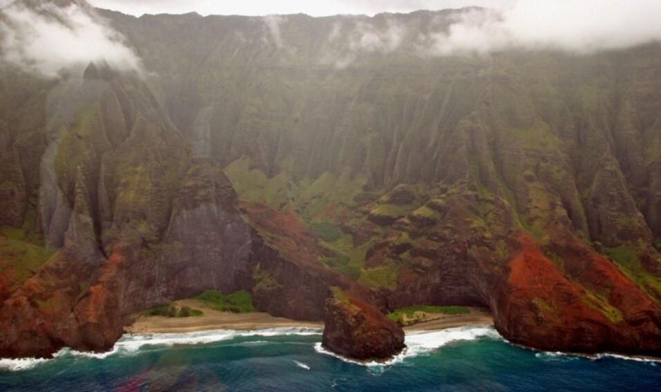 Plaża Honopu, Hawaje