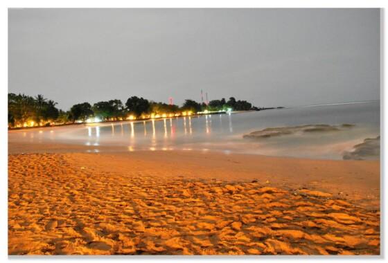 Plaża w Anyer