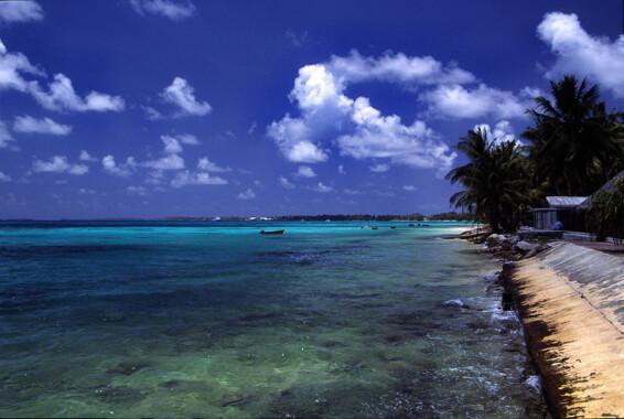 Plaża w Funafuti