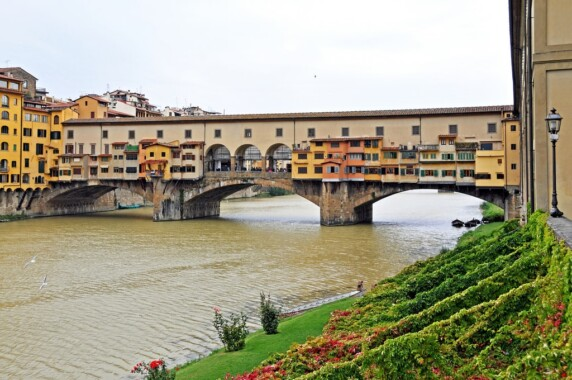 Most Ponte Vecchio we Florencji