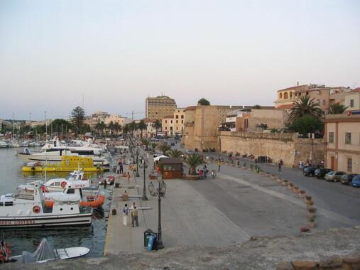 Port w Alghero