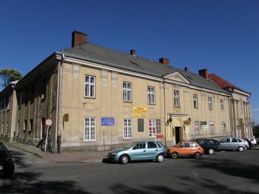 Były klasztor i kościół dominikanów – obecnie hotel PTTK, restauracja, pomieszczenia handlowe w Łańcucie