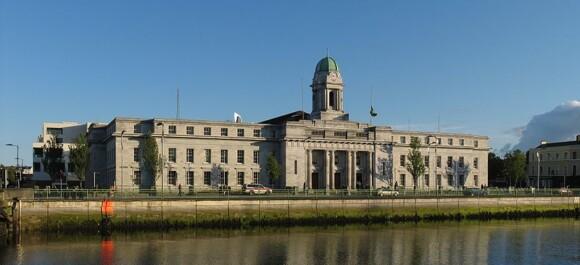Ratusz miejski w Cork