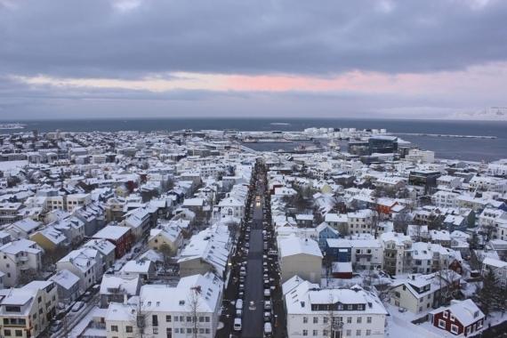Reykjavík zimą