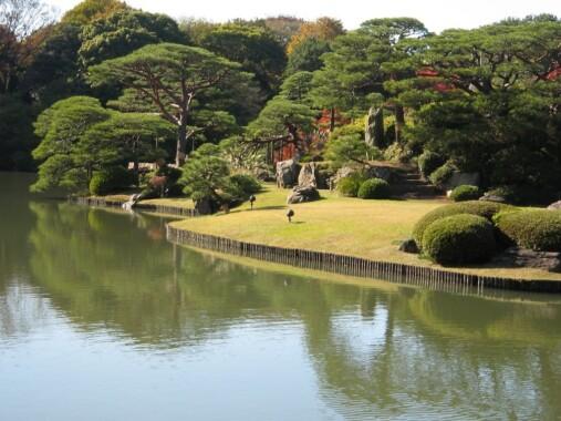 Ogród Rikugi-en