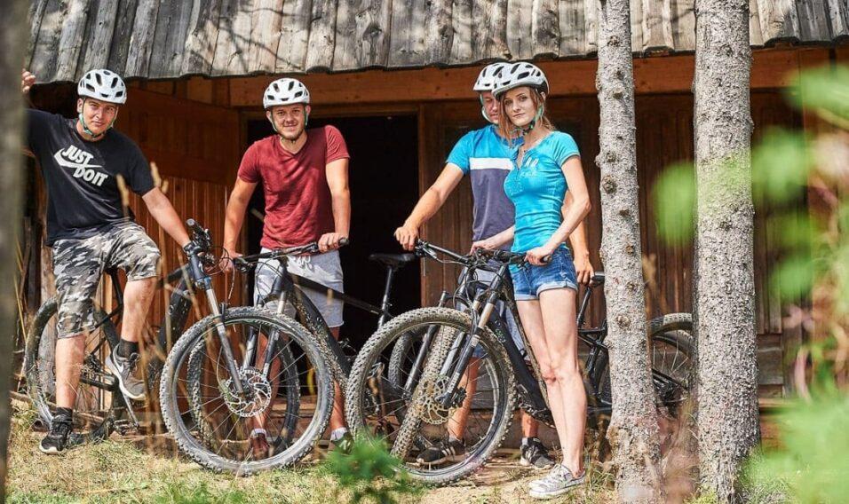 Na rowerze elektrycznym przez Zakopane