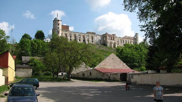 Ruiny zamku w Janowcu