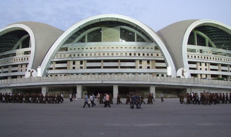 Stadion im. 1 Maja w Pjongjangu w Korei Północnej