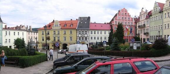 Rynek w Dusznikach-Zdroju