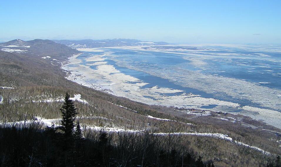 Rzeka świętego Wawrzyńca – 65 metrów głębokości (Kanada/USA)
