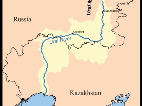 Rzeka Ural