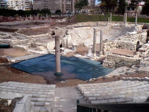 Kom el-Dikka – rzymski amfiteatr w Aleksandrii