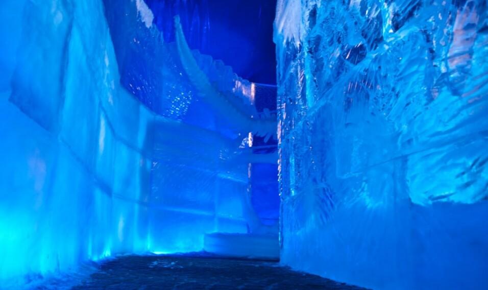 Festiwal rzeźb lodowych w Brugii