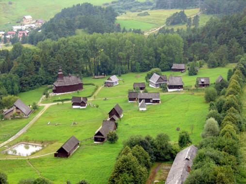 Skansen w Lubowli