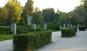 Skwer Harcerski i Aleja Sław w Kielcach