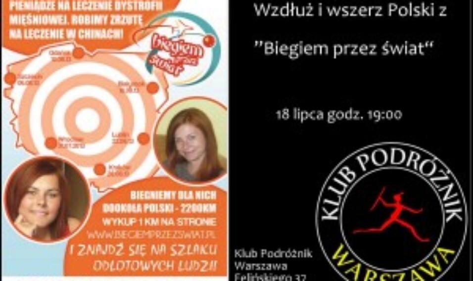 """Wzdłuż i wszerz Polski z """"Biegiem przez świat"""""""
